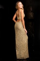 Scala 25415 Dress In Gold