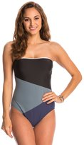Nautica Block and Tackle Bandeau One Piece Swimsuit 8144755