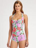 Nanette Lepore One-Piece Goddess Swimsuit
