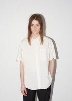Alexander Wang Cotton Poplin Trapeze Back Shirt