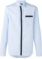 Kenzo contrast ribbon shirt - men - Cotton - 37