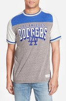 Mitchell & Ness 'Los Angeles Dodgers - No Hitter' Tailored Fit Graphic T-Shirt
