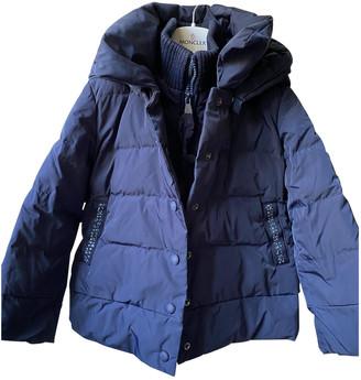 MonnaLisa Blue Polyester Jackets & Coats