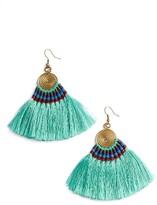 Women's Panacea Tassel Statement Earrings