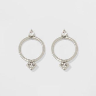 A New Day Cubic Zirconia Circle Earrings
