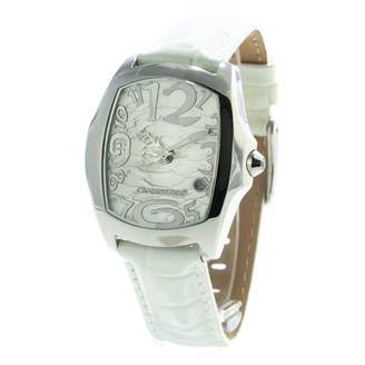 Chronotech Womens Analogue Quartz Watch with Leather Strap CT7896L-29