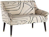 One Kings Lane Carson Settee - Sand/Black
