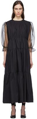 Le Petit Trou Black Felines Dress