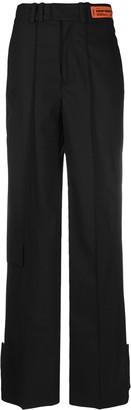 Heron Preston Logo-Patch Tailored Trousers