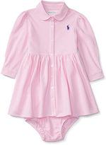 Ralph Lauren Knit Oxford Dress & Bloomer