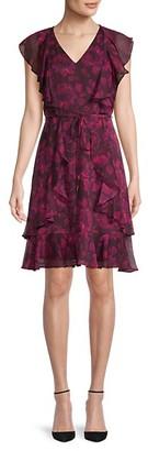 Tommy Hilfiger Fit Flare Floral Dress