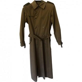 Ralph Lauren Khaki Cotton Trench Coat for Women