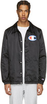 Champion Reverse Weave Black Coach Track Jacket