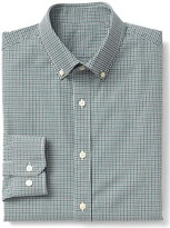 Gap Stretch Poplin tattersall slim fit shirt