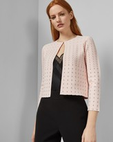 Ted Baker DOMINNA Scallop detail cardigan