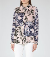 Reiss Hallis Printed Shirt
