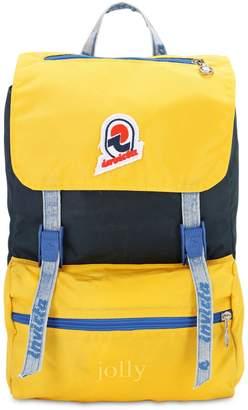 Invicta Mini Jolly Vintage Effect Nylon Backpack