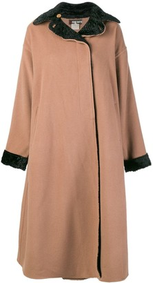 Fendi Pre Owned Boxy Long Coat