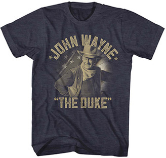 American Classics Men's Tee Shirts NAVY - John Wayne Navy Heather 'Duke' Crewneck Tee - Men