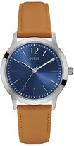 GUESS Men's Slim Brown and Blue Analog Watch