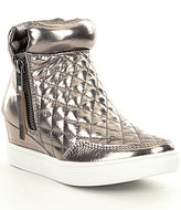 Steve Madden Girls' JLINQSQ Wedge Sneakers