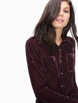 Splendid Crushed Velvet Shirt