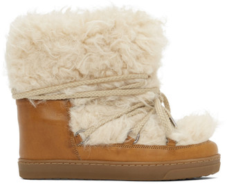 Isabel Marant Brown Grizzly Nowles Ankle Boots