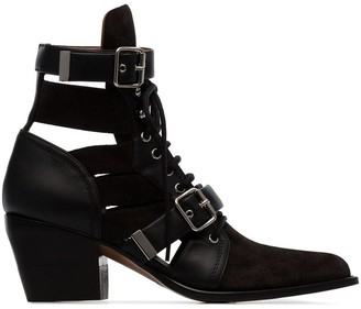 Chloé Reilly 60mm cut-out boots
