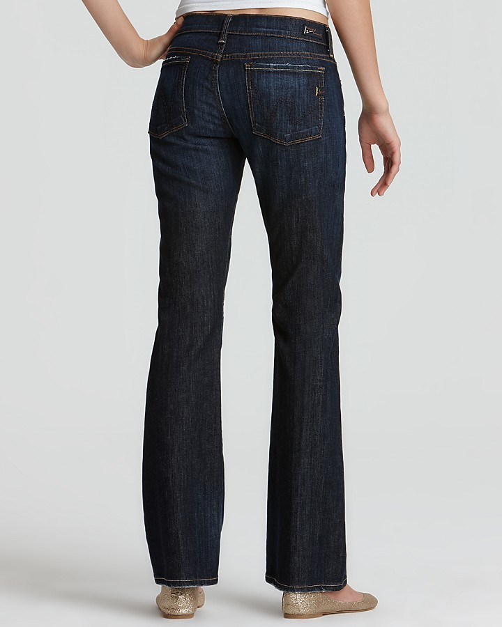 """Citizens of Humanity Petites """"Dita"""" Bootcut Jeans in New Pacific Wash"""