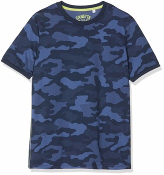 Sanetta Boys' T-Shirt Allover Pyjama Top