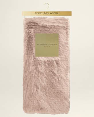 Adrienne Landau Eva Faux Mink Fur Throw