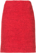 Akris Punto bouclé-tweed skirt - women - Cotton/Nylon - 2