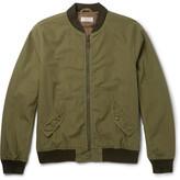 J.Crew Ma-1 Cotton Bomber Jacket - Green