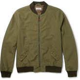 J.Crew Ma-1 Cotton Bomber Jacket