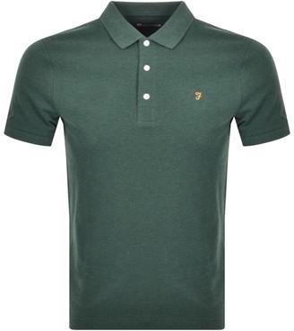 Farah Short Sleeved Polo T Shirt Green