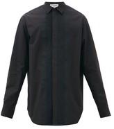 Jil Sander Wednesday P.m. Pintucked Cotton Shirt - Mens - Black