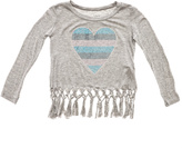 Rock & Candy Rock Candy Jeweled Heart Fringe Top