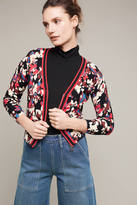 Plenty by Tracy Reese Trimmed Floral Cardigan