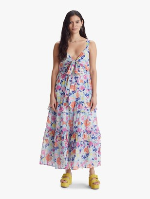 Banjanan Serafina Dress - Fiesta Sky Blue