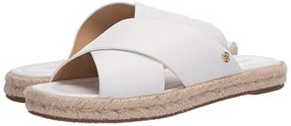 MICHAEL Michael Kors Linden Slide (Optic White) Women's Shoes