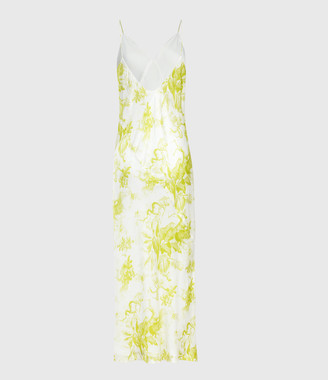 AllSaints Melody Riyaz Silk Blend Dress