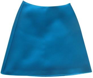 Prada Turquoise Polyester Skirts