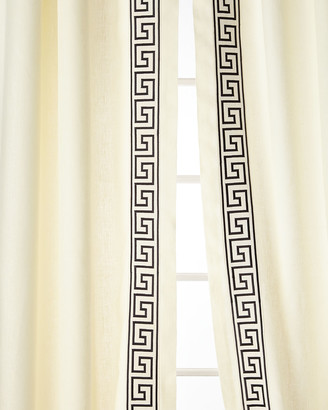 Home Silks Felix Curtain Panels, 108""