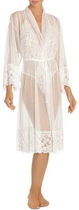 Jonquil In Bloom by Sheer Mesh and Lace Robe