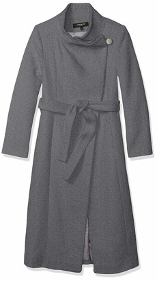 Kenneth Cole New York Kenneth Cole Women's Belted Fencer Maxi Wool