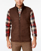Tasso Elba Men's Quilted Faux-Suede Vest, Only at Macy's