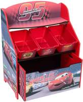 Delta - Cars 3-Tier Storage Organizer With Roll Out Toy Box