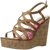 Madden-Girl Women's Elmaa Wedge Sandal