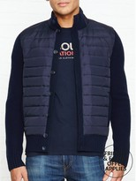 Hackett Padded Full Button Jacket