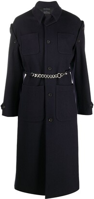 Rokh Detachable Sleeve Coat